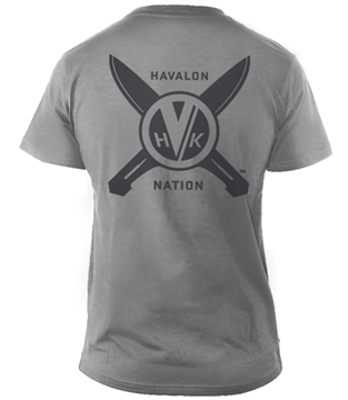 Picture of Men's Medium Grey Havalon T-Shirt