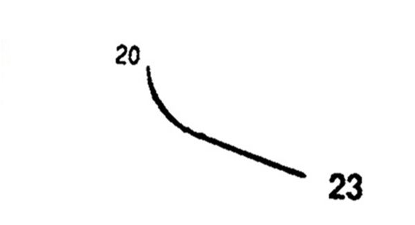 Picture of 20mm, Half Curved Reverse Cutting Suture Needle - Style 102-23